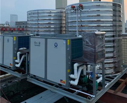 美的10T10P热水工程一体机工程